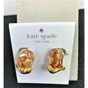 KATE SPADE House Cat Paw Stud Earrings